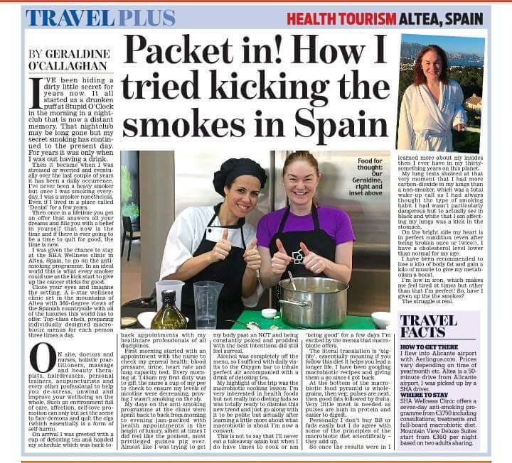 Health Travel for Irish Daily Mail
