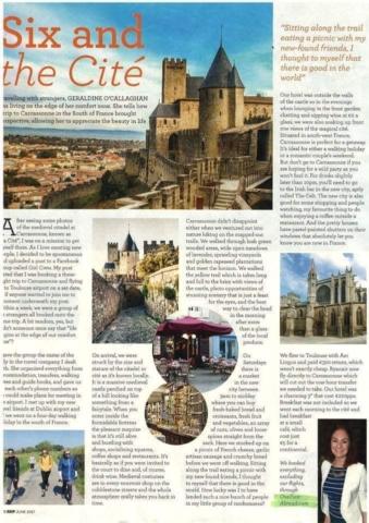Carcassonne for RSVP Magazine