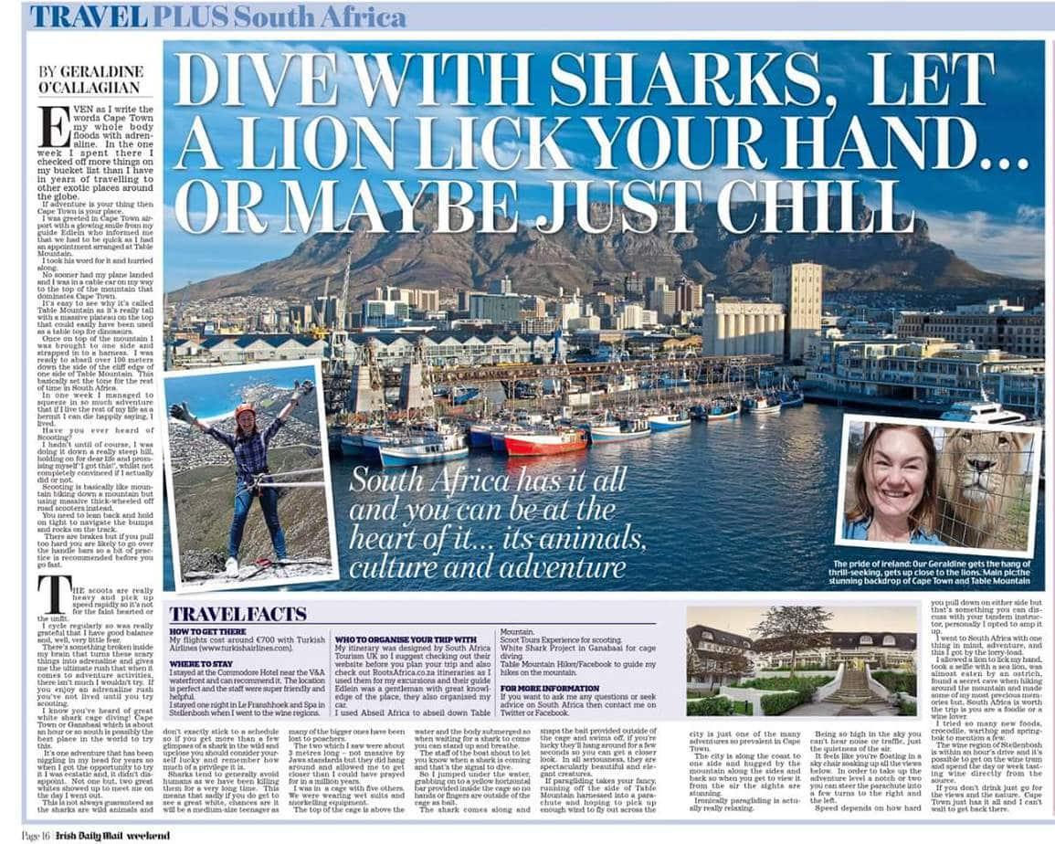 Cape Town Irish Daily Mail