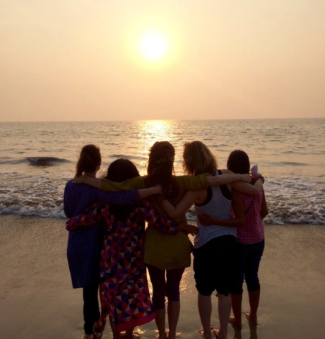 Sunset Juhu Beach