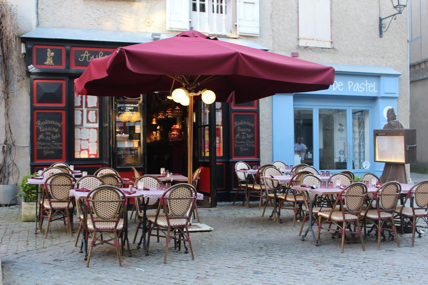 La Plaza in la cite carcassonne