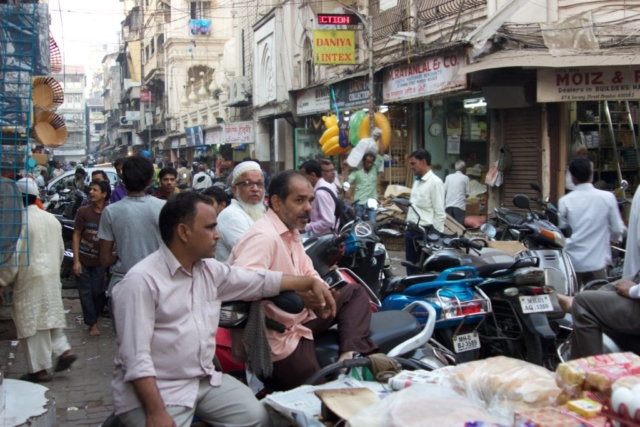 Bustling Mumbai
