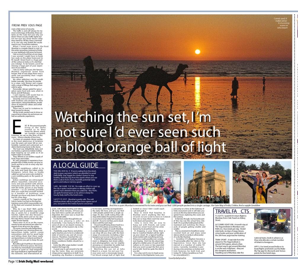 Mumbai Page 2 Daily Mail