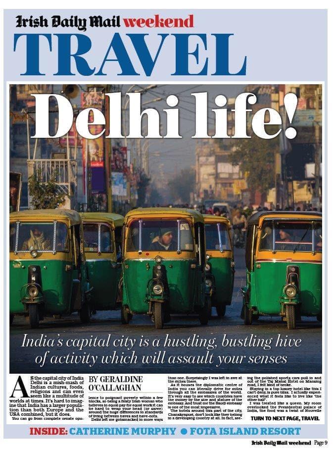 Delhi Live Cover Page
