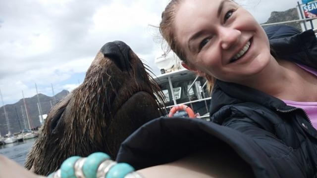 Sea Loin Selfie