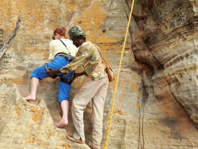 Climbing to Abuna Yemata Guh