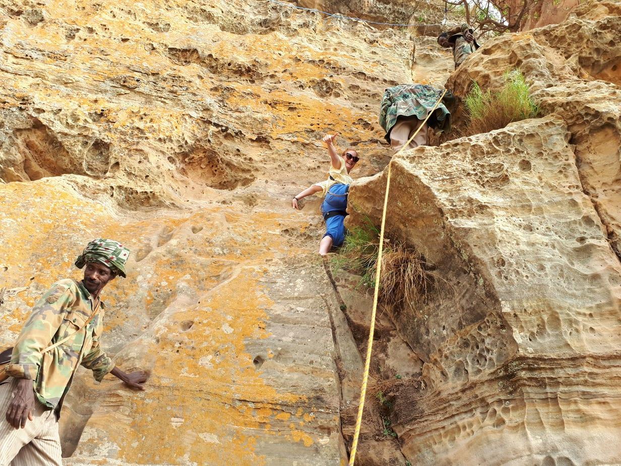 Mountain Climbing in Ethiopia