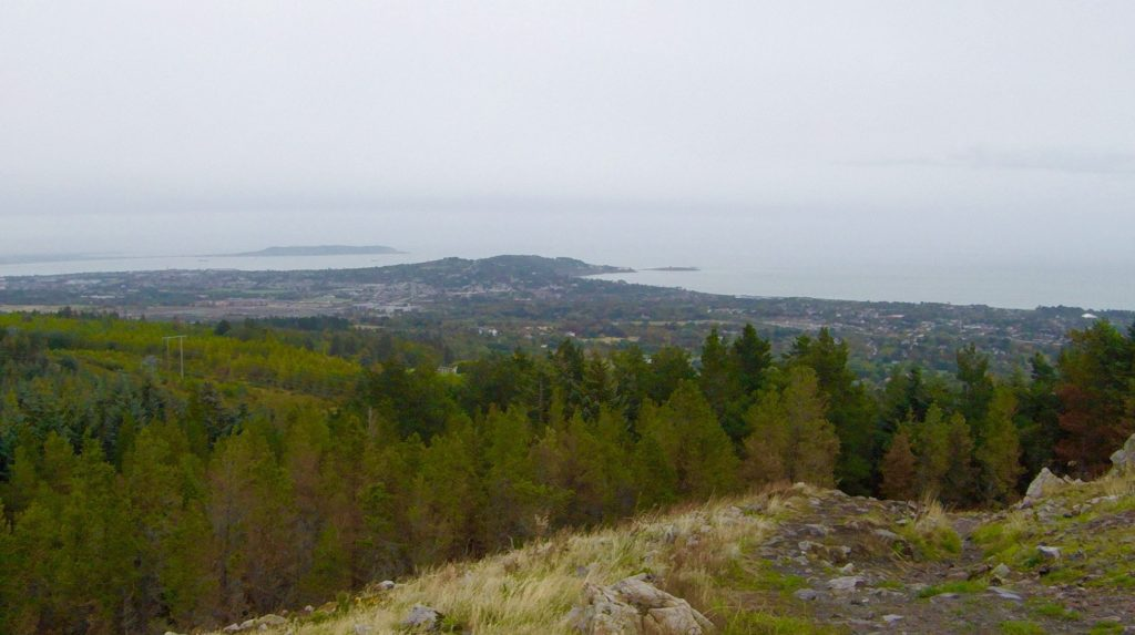 View from Barnaslingan County Wicklow