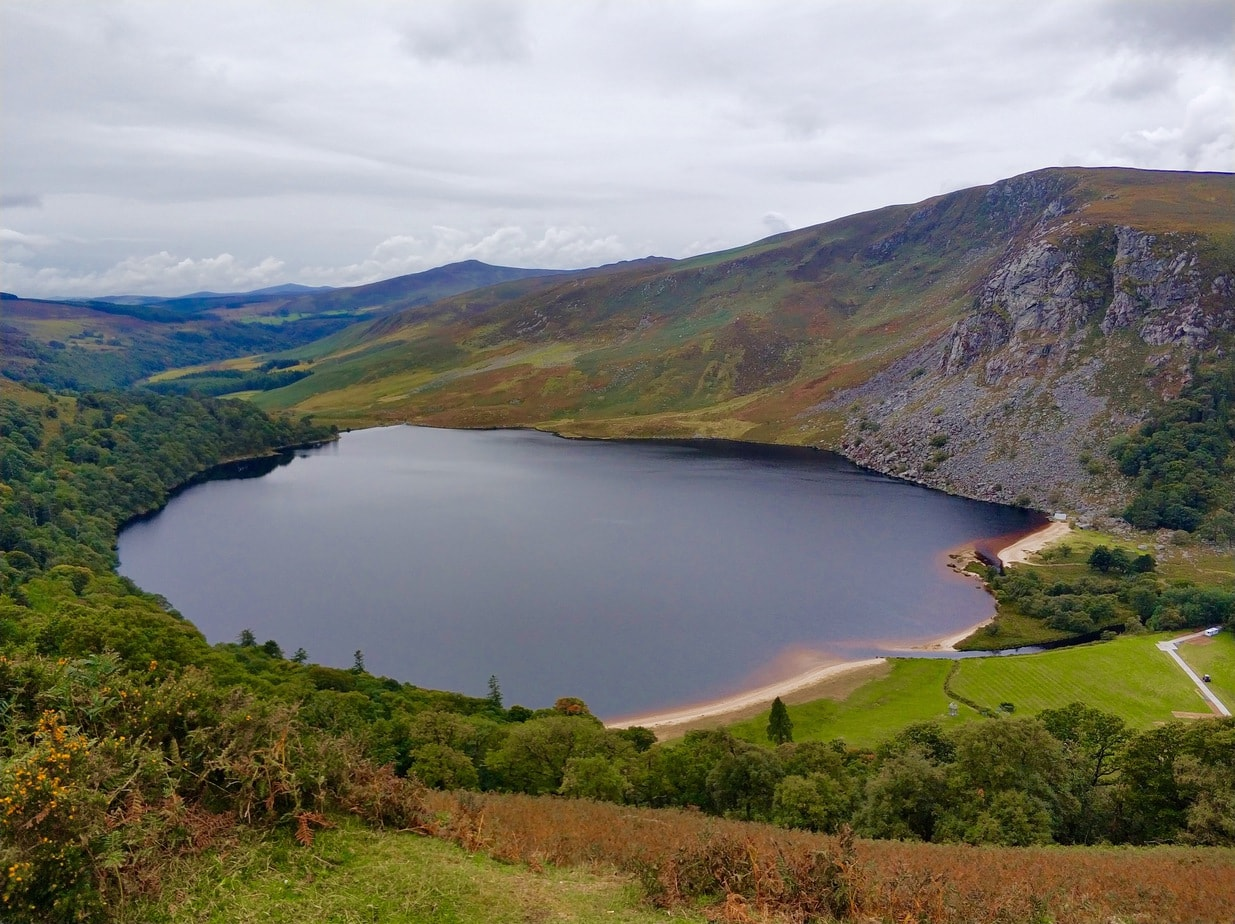 Lough Tay or Guinness Lake, Wicklow