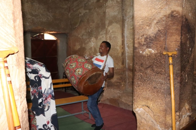 Traditional Ethiopian Drum