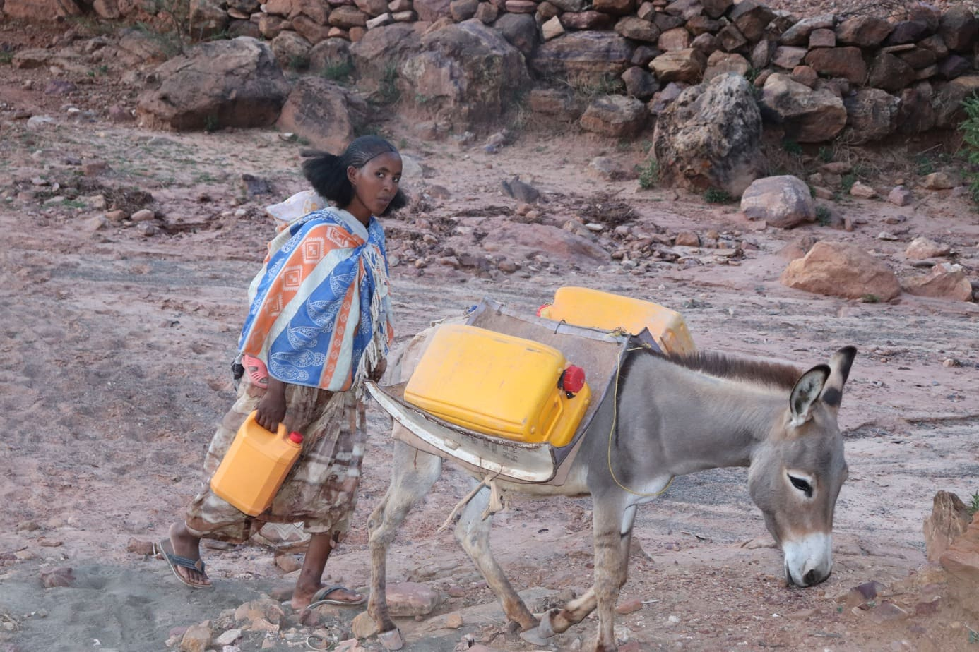 Water carrying Ethiopia