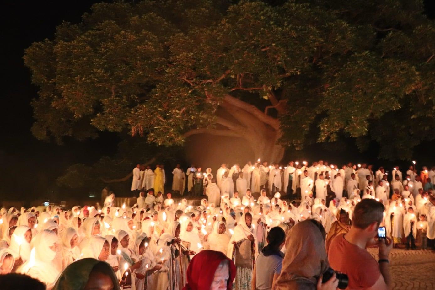 Axum procession Ethiopia