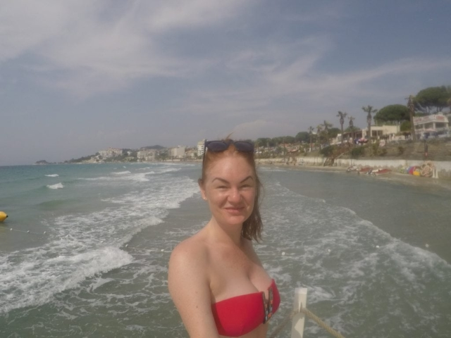 Ladies Beach, Kusadasi, Turkey
