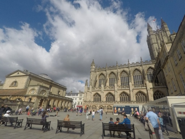 Bath Abbey Square
