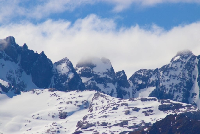 Snow-capped Mountains Patagonia